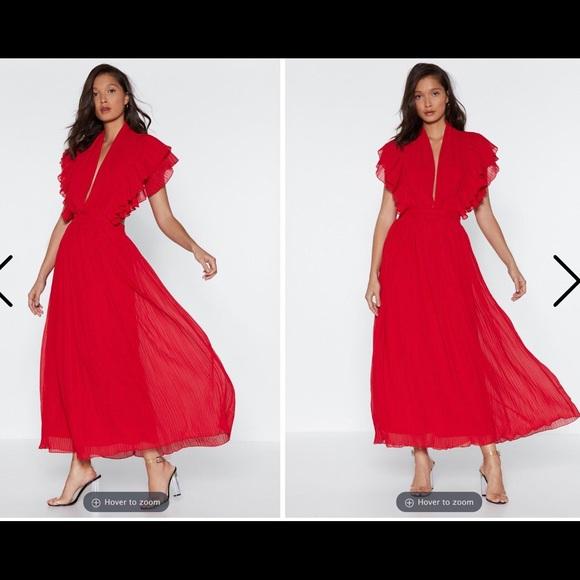 2eeaebac0a1f Nasty Gal Dresses | Red Little Devil Maxi Dress | Poshmark
